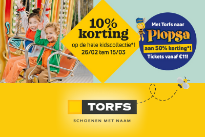 Kortingen Torfs & Plopsa